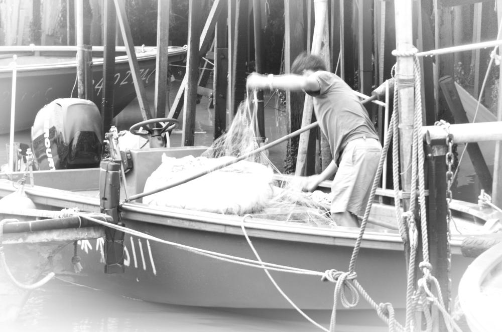Tai O fisherman