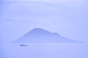 Sunrise of Bunaken Island