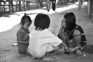 lisu children